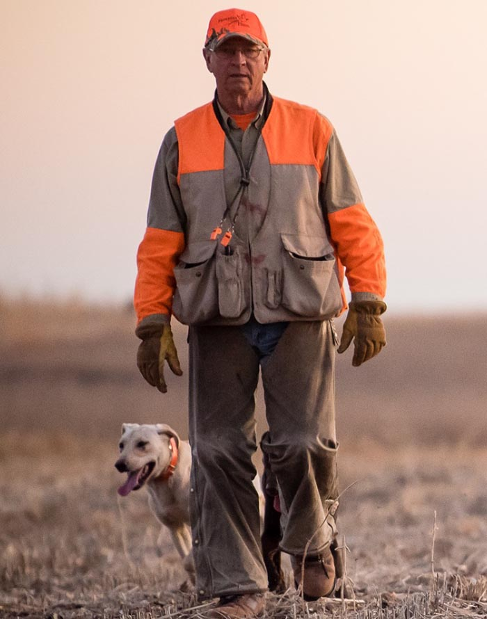 tom kuball pheasant hunting guide and expert